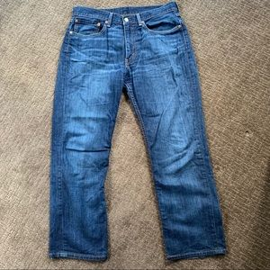 Men's Levi Strauss & Co. Jeans - Straight - 34x28